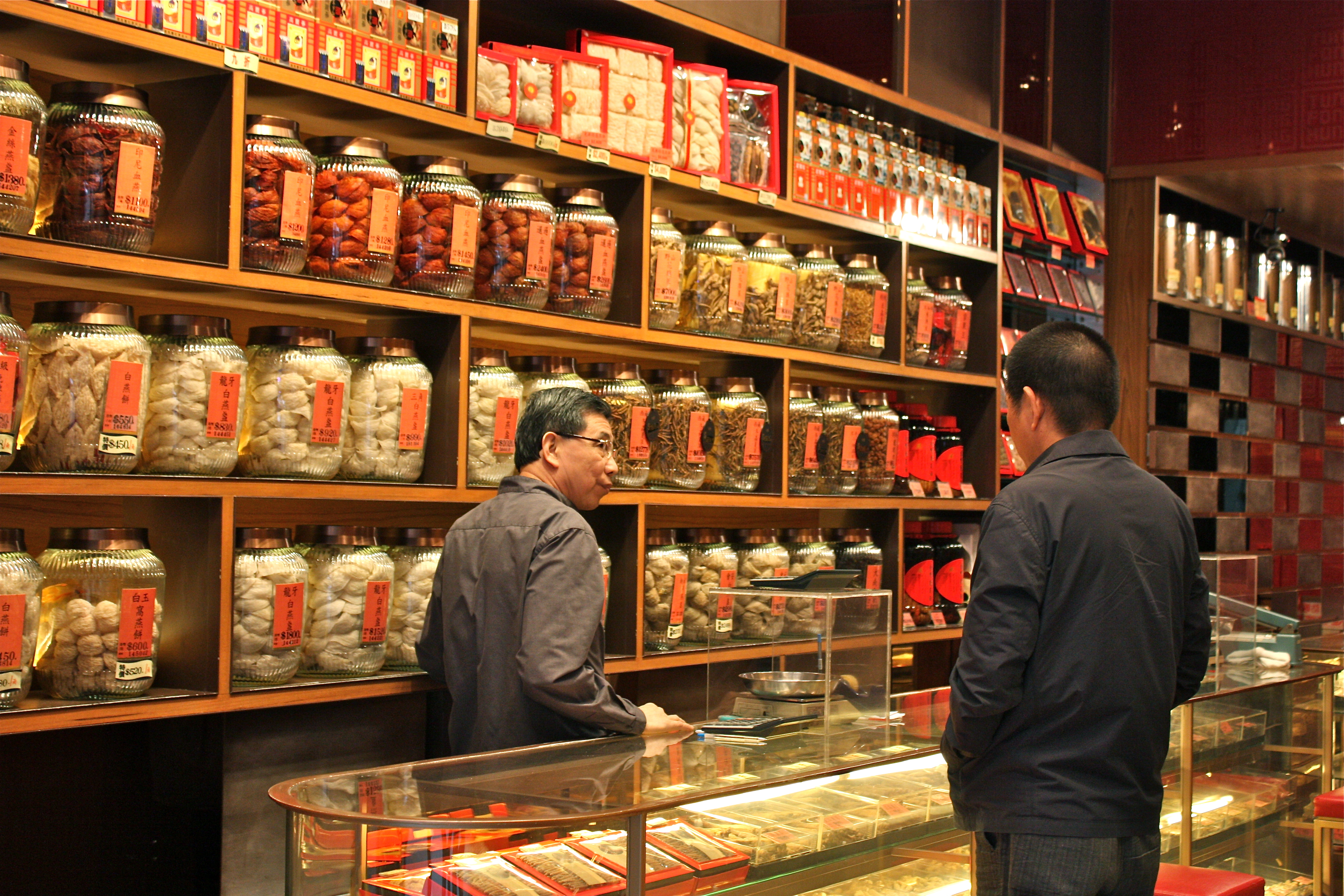 Traditional chinese medicine shop for Shopping in cina